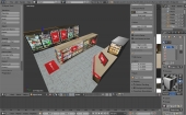 Blender 3D View